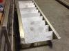 Inox trap met leuning